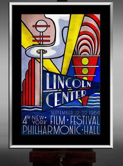 Roy Lichtenstein, 'Lincoln Center', 1966, OSME Fine Art