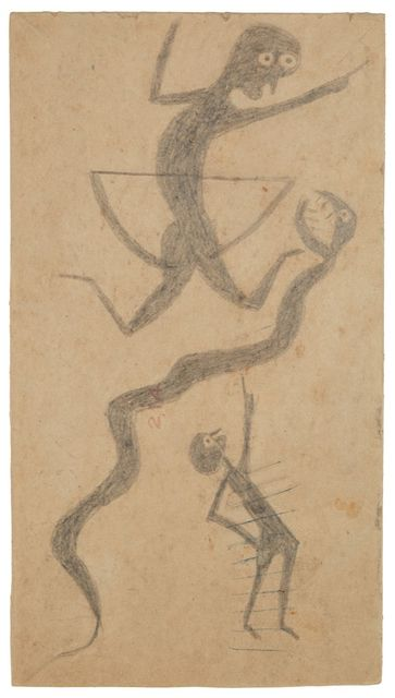 , 'Snake and Two Men,' 1939-1942, Cavin Morris Gallery