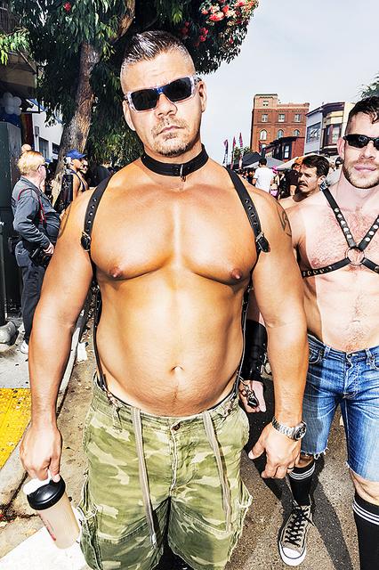 Mitchell Funk, 'Folsom Street Fair, BDSM Leather Event #21', 2015, Robert Funk Fine Art