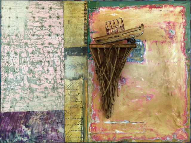 , 'Dry Dock on the River Styx,' 2016, Sue Greenwood Fine Art