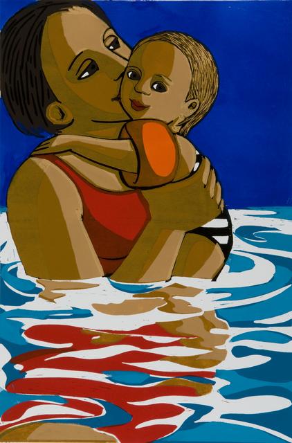 , 'Swimming,' 2016, Eames Fine Art