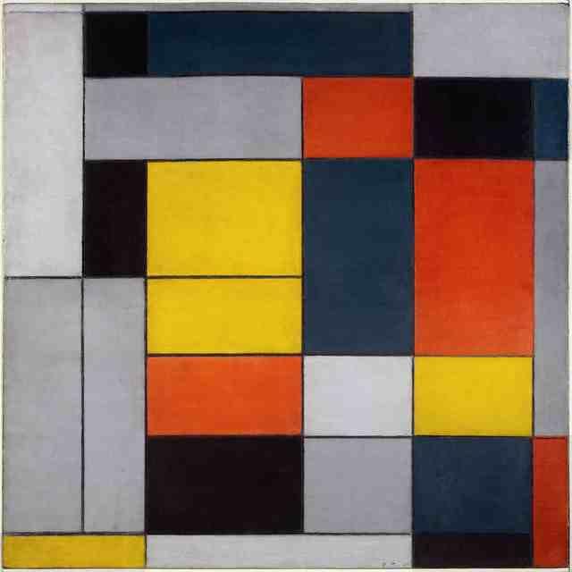 , 'No. VI / Composition No. II,' 1920, Tate Liverpool