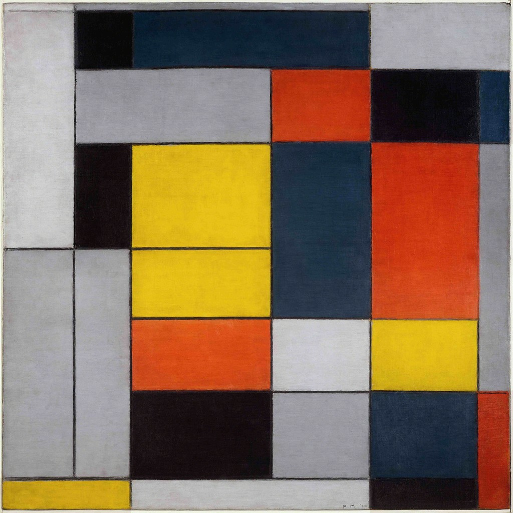 Piet Mondrian Werke how mondrian went abstract