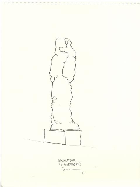 , 'Skulptur (S. Anzinger),' 2016-2017, Galerie Elisabeth & Klaus Thoman
