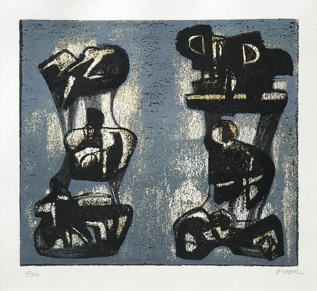 , 'Ideas for Metal Sculpture,' 1981, Eckert Fine Art