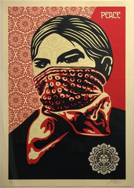 Shepard Fairey (OBEY), 'Zapatista Woman Large Format', 2005, Gregg Shienbaum Fine Art