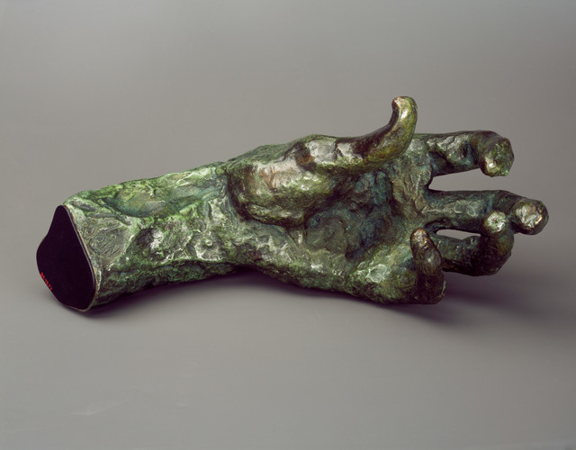 , 'Large Left Hand,' ca. 1912, Brooklyn Museum