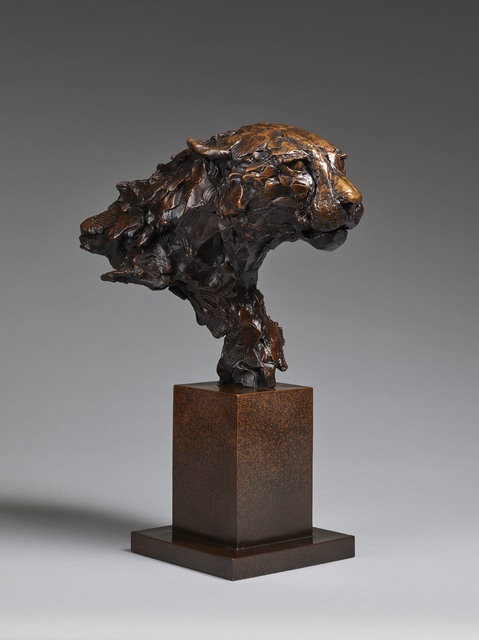 , 'Cheetah Bust,' 2017, Sladmore Contemporary