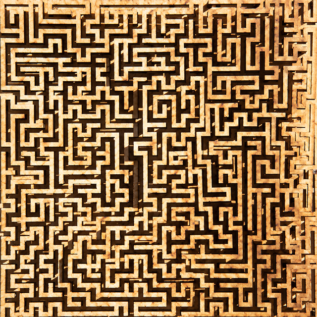 Jared Tarbell, 'UNFINISHED MAZE', 2019, Gallery Fritz