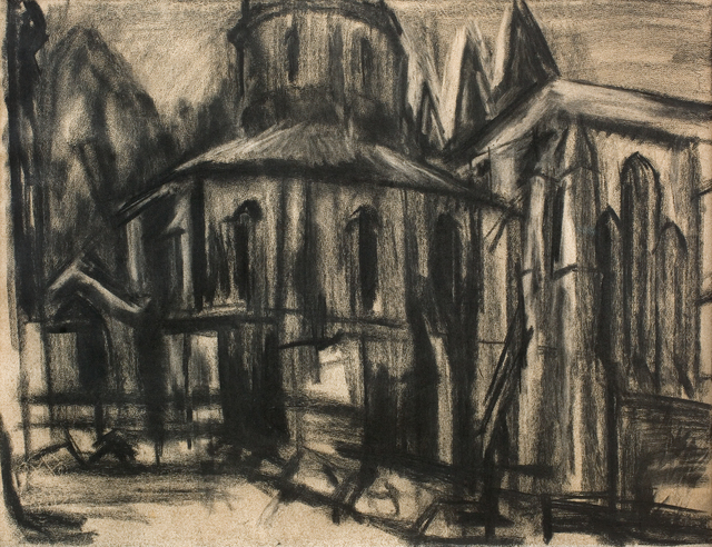 , 'The Round Church, Middle Temple,' 1944, Piano Nobile
