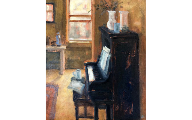 , 'Black Piano,' 2018, Bernay Fine Art
