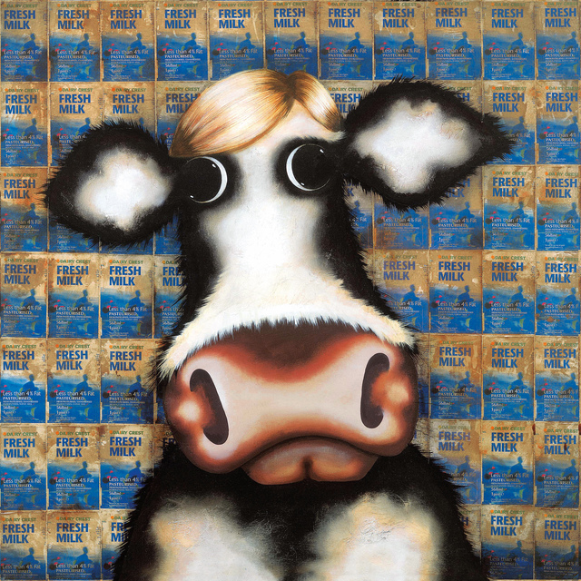 Caroline Shotton, 'Milk Cartons - Homage To Warhol', 2010, Castle Fine Art