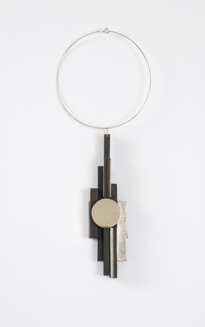 , 'Untitled (Wood, Silver and Gold necklace),' 1980's, Thomas French Fine Art