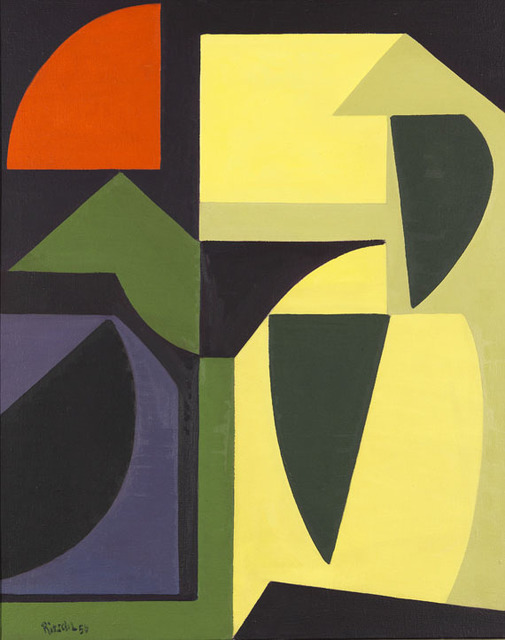 , 'Composition,' 1956, SETAREH GALLERY