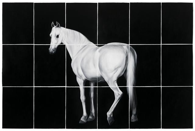 , 'White Horse (after Grant and Stubbs),' 2016, Visions West Contemporary