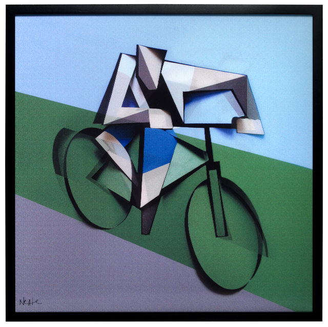 , 'ITI_02 THE CYCLIST Dimensional Edition (a limited edition of 150 pieces),' 2014, Elms Lesters Painting Rooms