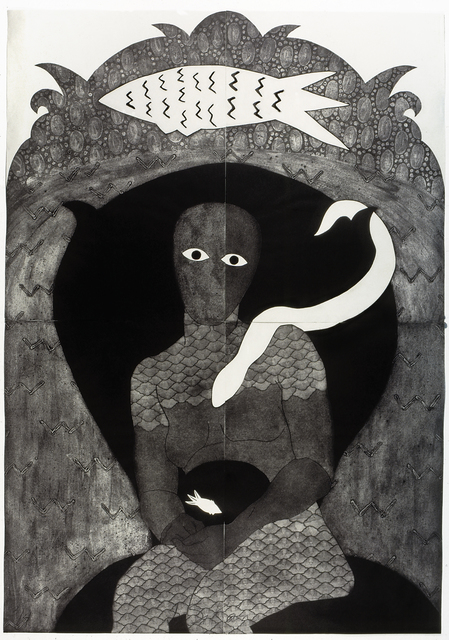 , 'Sikán,' 1991, Fowler Museum at UCLA
