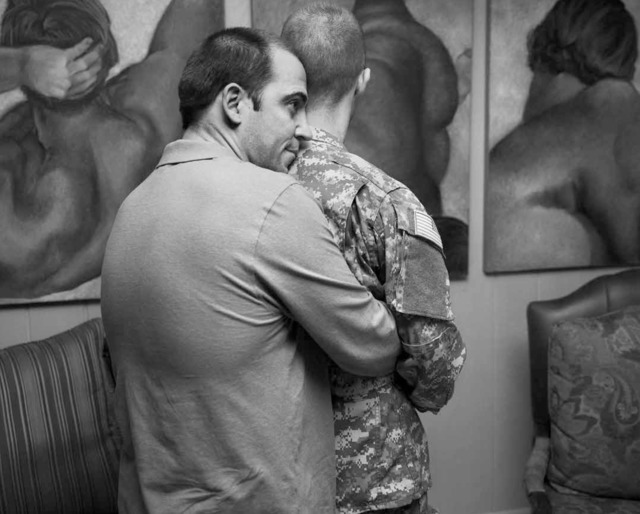 ", 'Image from ""Gays in the Military"",' 2014, Daylight Books"
