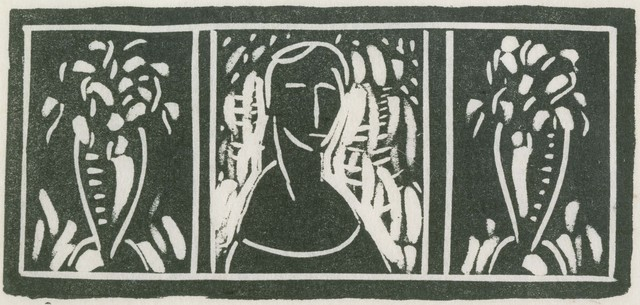 Alfred H. Maurer, 'Linoleum Cut with Tribute by Sherwood Anderson', Date unknown, Phillips Collection
