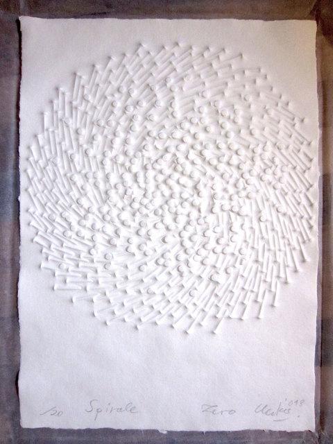 Günther Uecker, 'Spirale', 2013, Engelage & Lieder