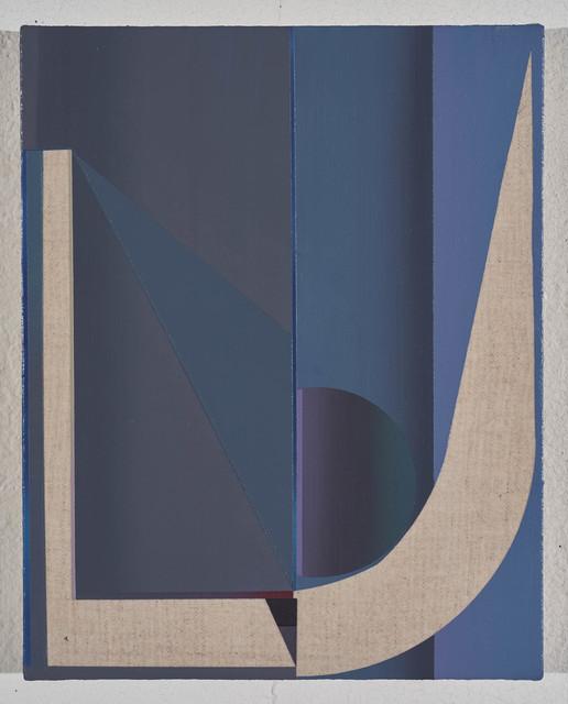 , 'U Shape Choir, Geometry of a Blue Ghost,' 2018, Morgan Lehman Gallery