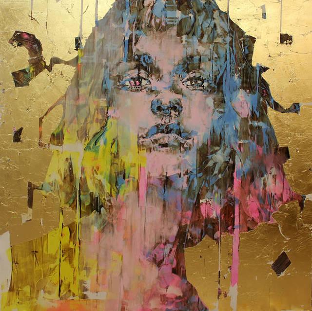 Marco Grassi/Grama, 'Di Gold experience n. 379', 2018, Liquid art system