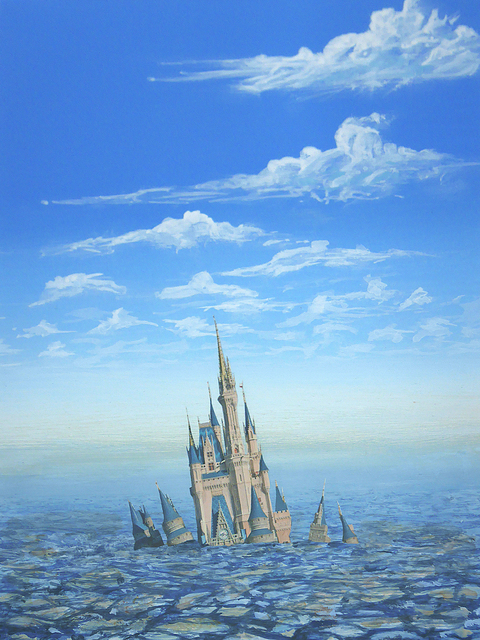 , 'Disney Castle Landfill,' 2016, Bert Green Fine Art