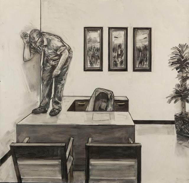 David Bailin, 'Listening', 2012, Koplin Del Rio