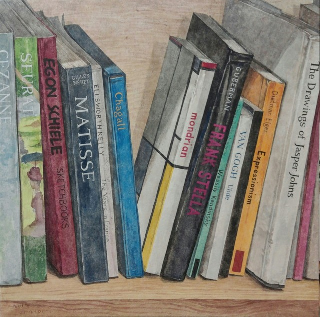 , 'The books of artist II,' 2013, Artflow