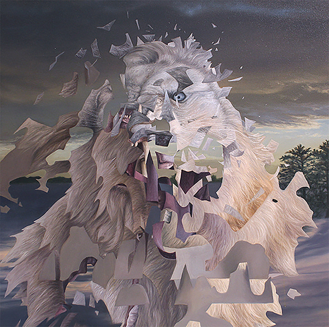 , 'White Lion ,' 2016, New York Academy of Art