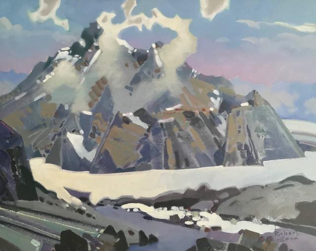 Robert Genn, 'Unnamed Monument near Mount Waddington', 2000-2010, Painting, Acrylic on Canvas, Madrona Gallery