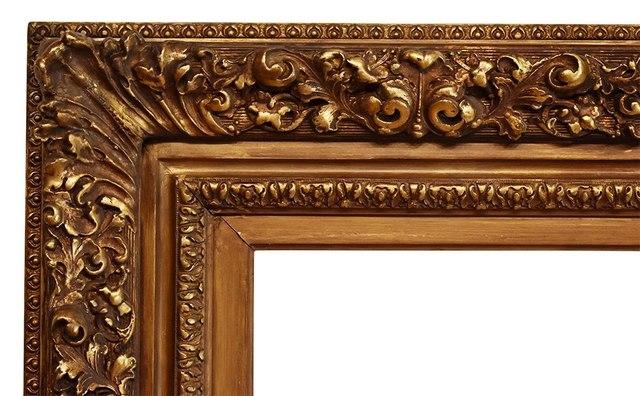 , 'American Barbizon Metal Leaf Frame, circa 1900 (30x40),' ca. 1900, Susquehanna Antique Company