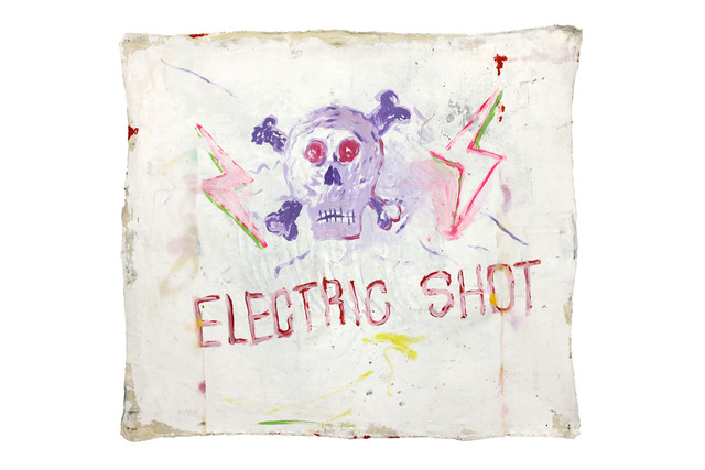 Richard Mason, 'ELECTRIC SHOT ', 2019, Painting, Acrylic on canvas, 99 Loop Gallery