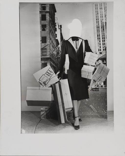 , 'Fashion Montage, New York,' ca. 1950, Osborne Samuel
