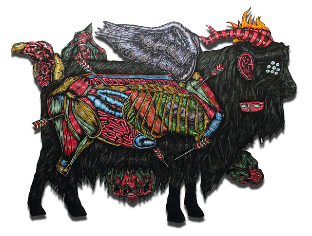 , 'The Black Goat Who Defended His Master,' 2018, G 13