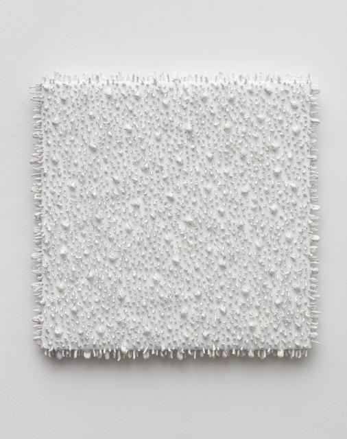 , 'Square object #03 (white/pale),' 2017, Anne Mosseri-Marlio Galerie