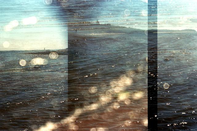 , 'Transitory Space, Nova Scotia, Canada, McNab's Island Dots # 56,' 2015-2016, Susan Eley Fine Art