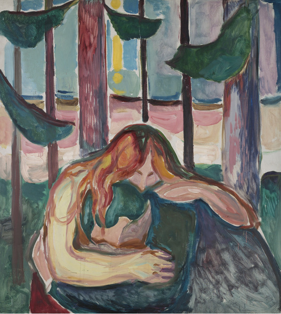 , 'Vampire in the Forest,' 1916-1918, Museo Thyssen-Bornemisza