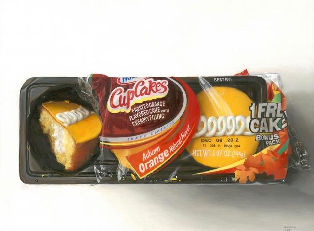 , 'Orange Cupcakes,' 2013, George Billis Gallery
