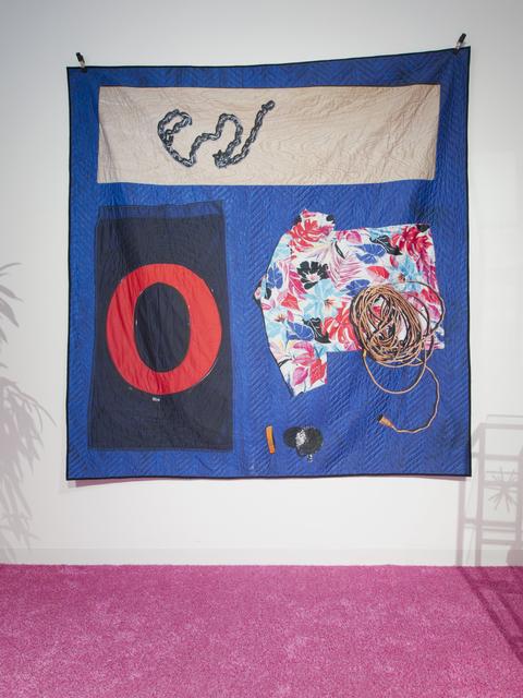Emmett Moore, 'Moving Quilt, O Blue', 2014, Nina Johnson