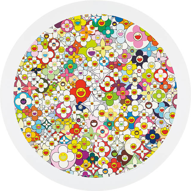 Takashi Murakami, 'Super Flat, First Love, Flower', 2010, Phillips