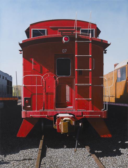 , '07,' 2017, Bernarducci Gallery