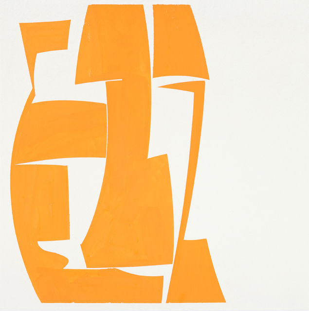 , 'Covers 24 Orange ,' 2015, Kathryn Markel Fine Arts