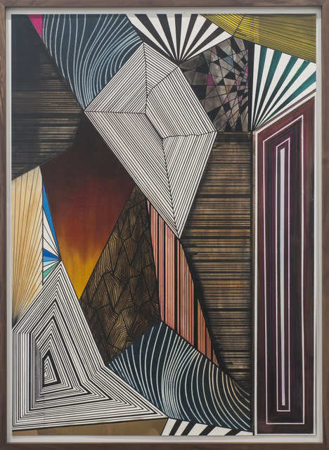 , 'Try to Understand What's Below (Part 1),' 2014, Lora Reynolds Gallery