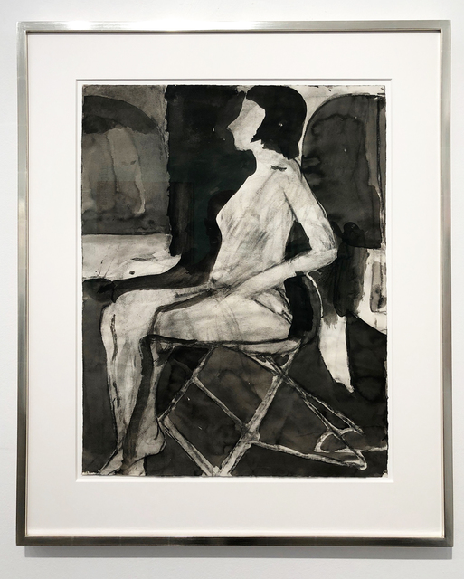 , 'Untitled (Seating Nude on Folding Chair),' 1967, Leslie Feely