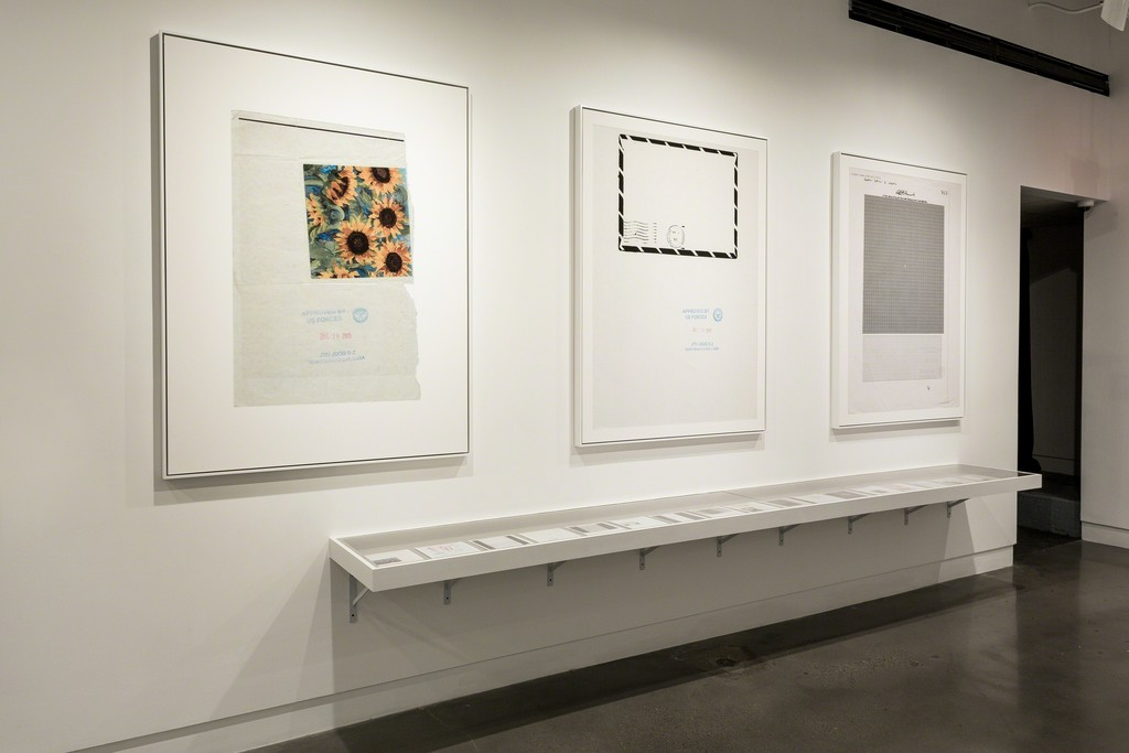 Edmund Clark: The Day the Music Died, installed at the International Center of Photography, New York, New York. Photo by John Halpern.