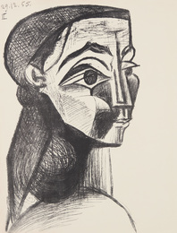 Portrait de femme II (Portrait of a Woman II) (Jacqueline Roque)