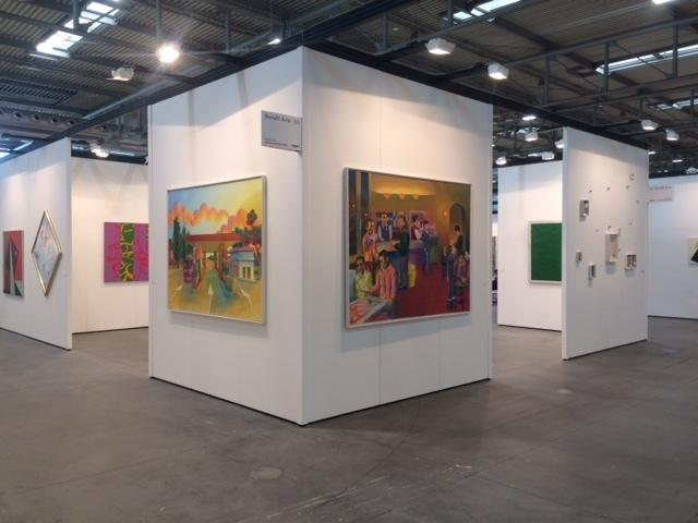Exterior of Booth D3 At Art Verona, Modern Pavillon (11). Works by Luigi Ontani, Salvo, Carla Accardi, Mario Schifano, Aricò, Pino Deodato, Bertozzi&Casoni