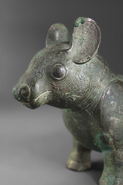, 'Bronze animal shaped like a tapir,' Late Spring and Autumn or Early Warring States, Galerie Christian Deydier