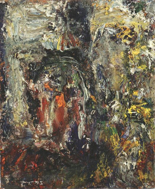 , 'Tête et paysage,' 1990, Daniel Blau